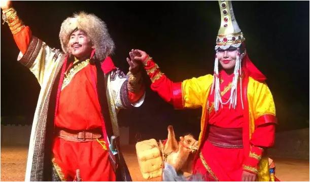 视听盛宴-中国宁夏水洞沟《北疆天歌》顶级夜场强势首演成功!